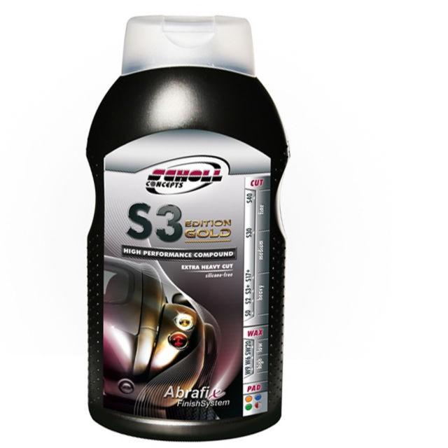 Scholl S3 Gold XXL Hochleistungspaste 1 kg
