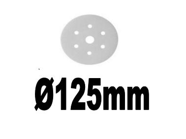 Ø125mm Schleifpapier
