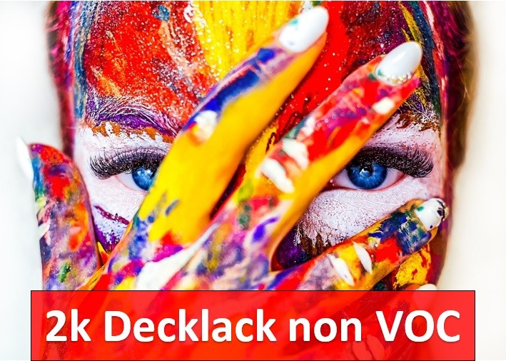 2K Decklack non VOC-konform