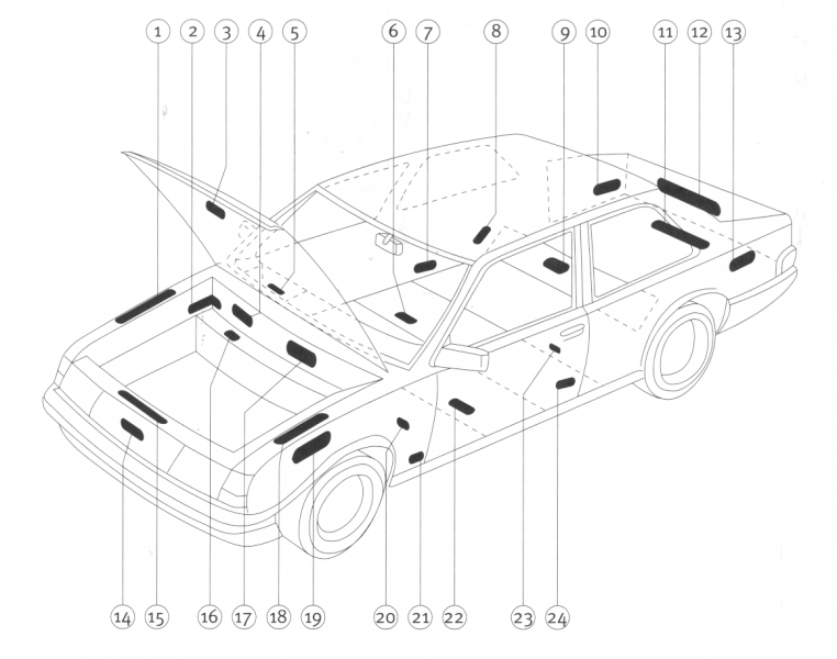 Autolack / Industrielacke