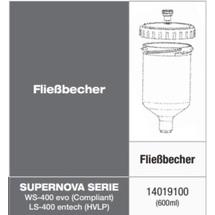 Anest Iwata Fließbecher 600ml PC-G600P-2