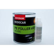 Feycolor REDOCAR HS 650 VOC PE-Füller, styrolarm inkl. Härter