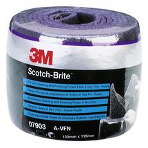 3M™ Scotch-Brite™ Vliesrollen CF-SR - perforiert purple