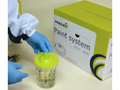 Finixa FPS Paint System Deckel 650ml/900ml / 50 Stk.