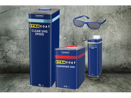 Dynacoat Clear UHS Speed Startpaket PLUS Sonnenbrille