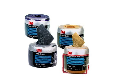 3M™ Scotch-Brite™ Multi-Flex Vliesrollen MX-SR grau