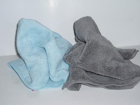 1Stk. Mikrofasertuch hellblau 40x40 cm (FS00015)