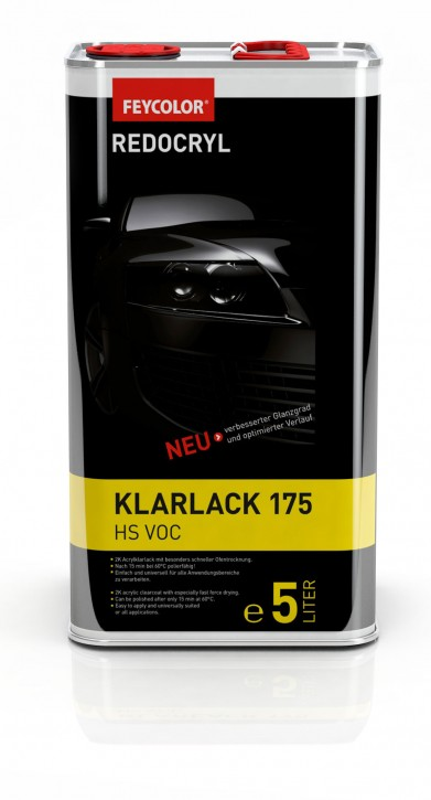 Feycolor Eco-Speed Klarlack 175 in 5 Liter