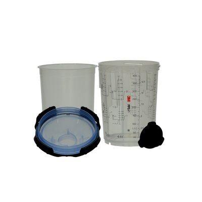 3M™ PPS™ Series 2.0 Midi Kit, 400ml, 125µm (mit 75 Deckeln)