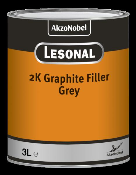 Lesonal 2K Graphit Füller 3,0 Liter