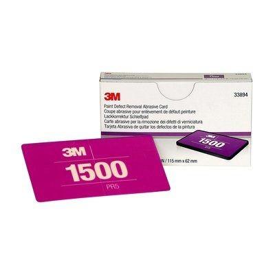 3M™ 264L Lackkorrektur Handschleifsystem Schleifblüten kartenformat 115x67mm P1500