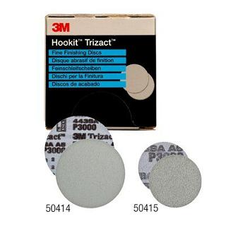 3M™ Trizact™ Hookit™ Feinschleifscheiben P3000 Ø150mm (15 Stück)