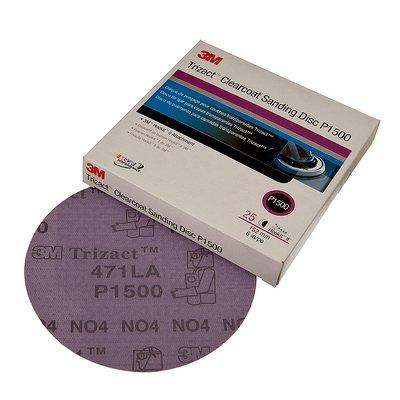 3M™ Trizact™ Hookit™ Feinschleifscheiben P1500 (25 Stück)