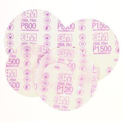 3M™ Hookit™ 260L+ Purple Schleifscheiben (15-fach gelocht)