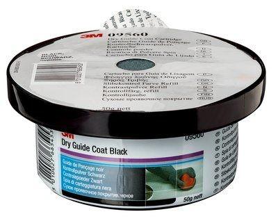 3M™ Kontrollpulver schwarz 50g mit Pad