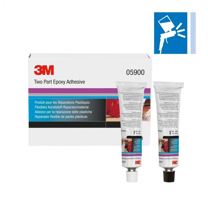 3M 05900 Kunststoff-Reparaturmaterial / Tuben-Set