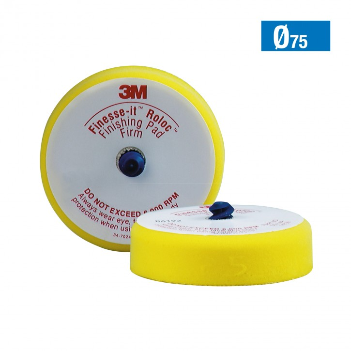 09998 3M Finesse-it Roloc Schaumstoffträger Ø75mm