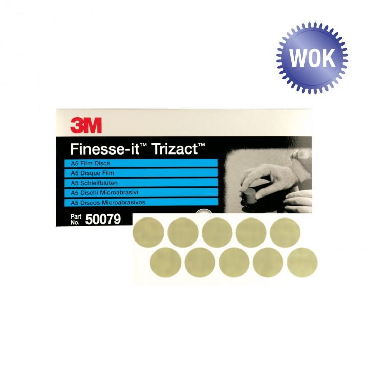 100Stk. 3M™Finesse-it™Trizact™ Schleifronde 466LA 50079