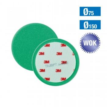 50499 3M Perfect-it III Polierschaum grün Ø75mm