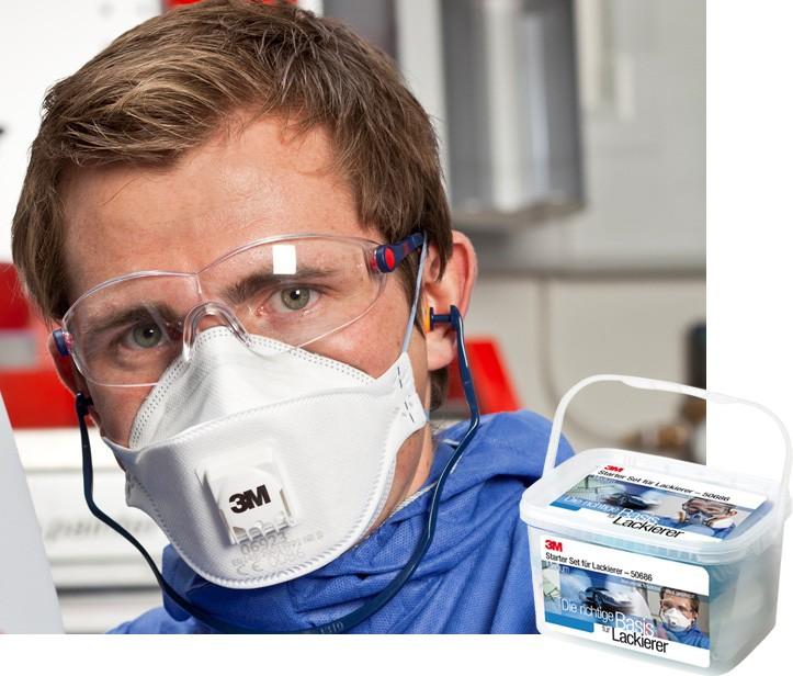 3M Arbeitsschutz-Starter-Set Gr. Medium für Lackierer