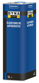 Dynacoat Clear 6000 HS Antiscratch 5 Liter