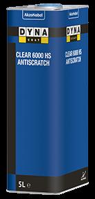 Dynacoat Clear 6000 HS Antiscratch 5 Liter