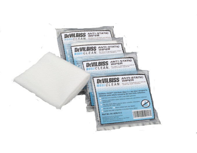 DeVilbiss Anti-Static Wipes