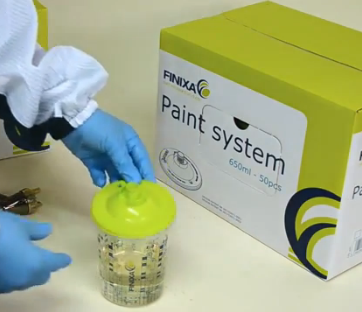Finixa FPS Paint System Deckel 400ml / 50 Stk.