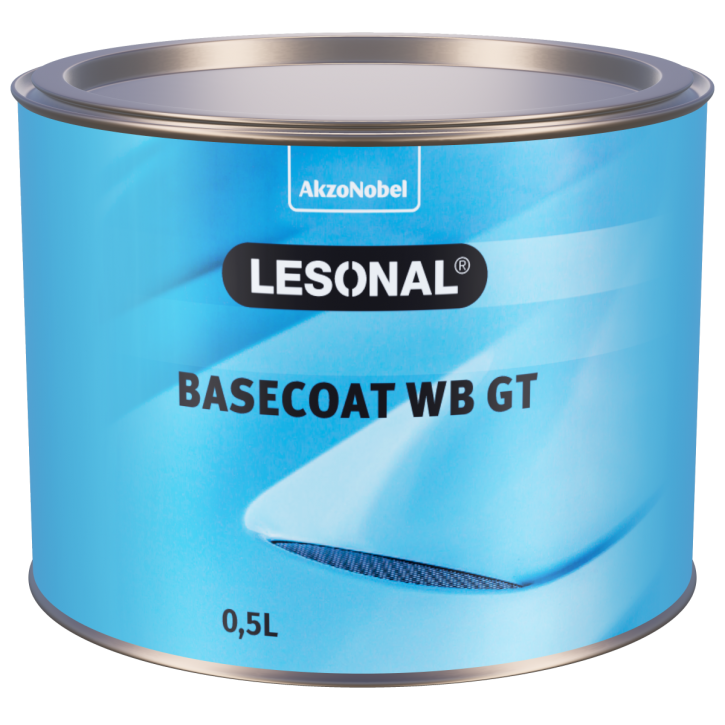 Lesonal Basecoat WB GT MM14 Weiß 1 Liter