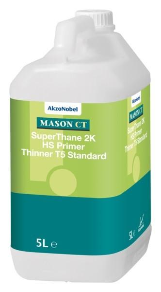 Mason CT SuperThane 2K HS Primer Thinner T5 standard 5L