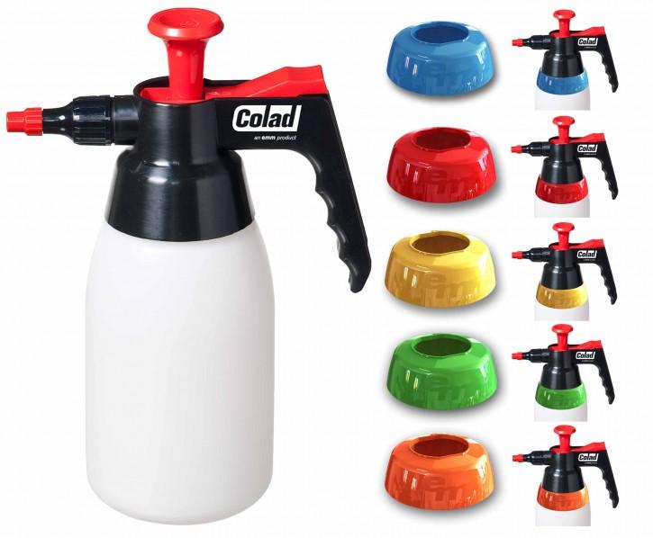 Colad 9705 Pumpsprühflasche mit farblichen Ringen