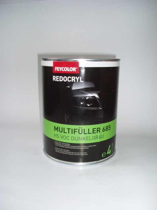 Feycolor Redocryl HS 685 VOC Multifüller hellgrau 1Liter