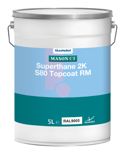 Mason CT SuperThane 2K S80 Topcoat matt 1L