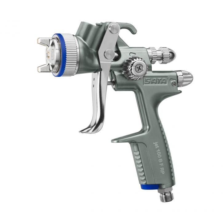SATAjet 100 B F RP  UV Füllerpistole mit 0,6l RPS-Einwegbecher (ohne Drehgelenk) 1,1 Uv Düse
