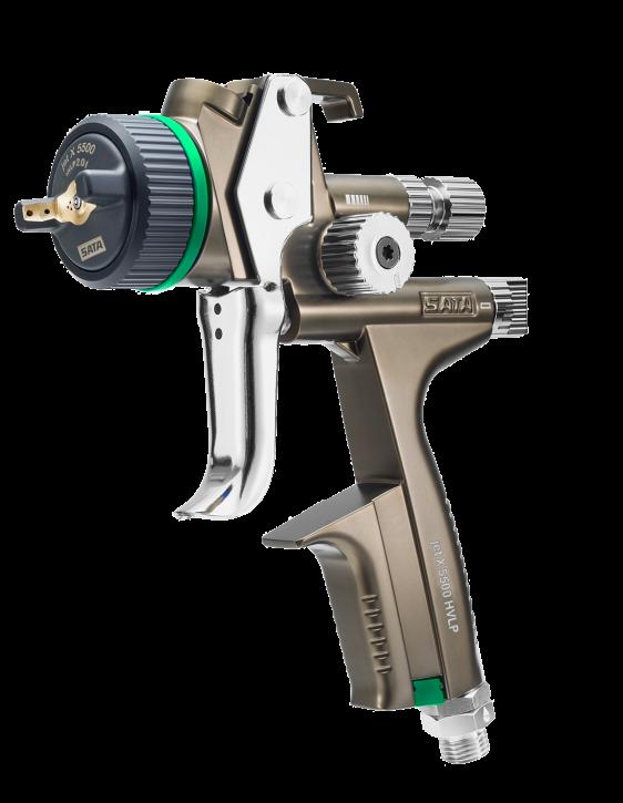 SATAjet® X 5500 HVLP mit Drehgelenk und RPS Mehrzweckbecher