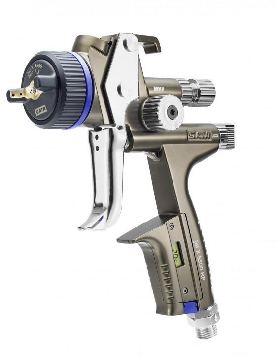 SATAjet® X 5500 RP mit Drehgelenk und RPS Mehrzweckbecher
