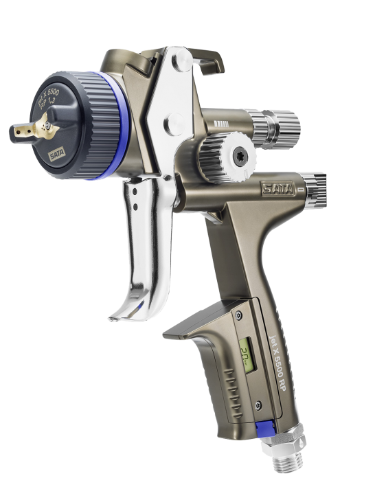 SATAjet® X 5500 Digital RP mit Drehgelenk und RPS Mehrzweckbecher