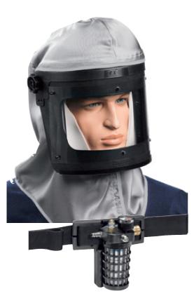 SATA® vision™ 2000 mit Aktivkohle-Gurteinheit