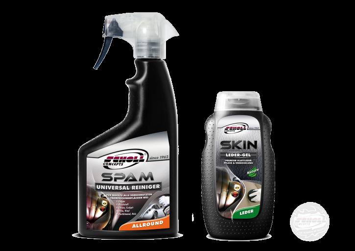 Scholl Spam Reiniger + Skin Lederpflege 500ml