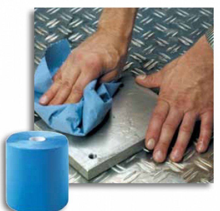 ZVG Multiclean Plus Putzpapier blau