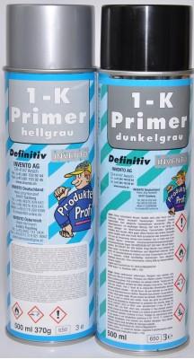 Invento 1k-Primer Spraydose 400ml hellgrau