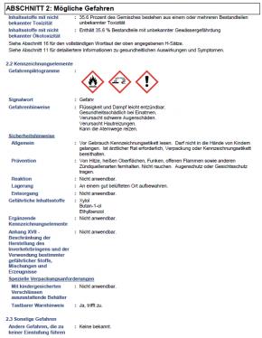 Lesonal Epoxy Primer Härter 0,5 Liter