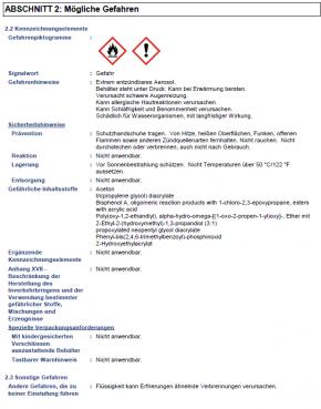 Lesonal UV-Filler hellgrau (750ml)