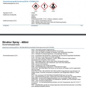 Finixa TSP 550 Struktur Spray 400ml